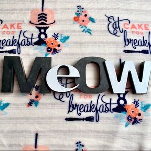 """Other - 🐈 Cat """"Meow"""" Home Wall Art 🐈"""